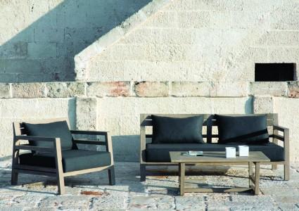 Ethimo - Outdoor-Sofa Costes