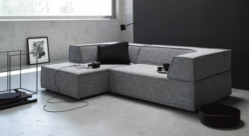 sofa trio von cor in grau wohn design blog. Black Bedroom Furniture Sets. Home Design Ideas