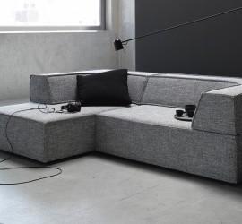 Sofa Trio von COR in grau