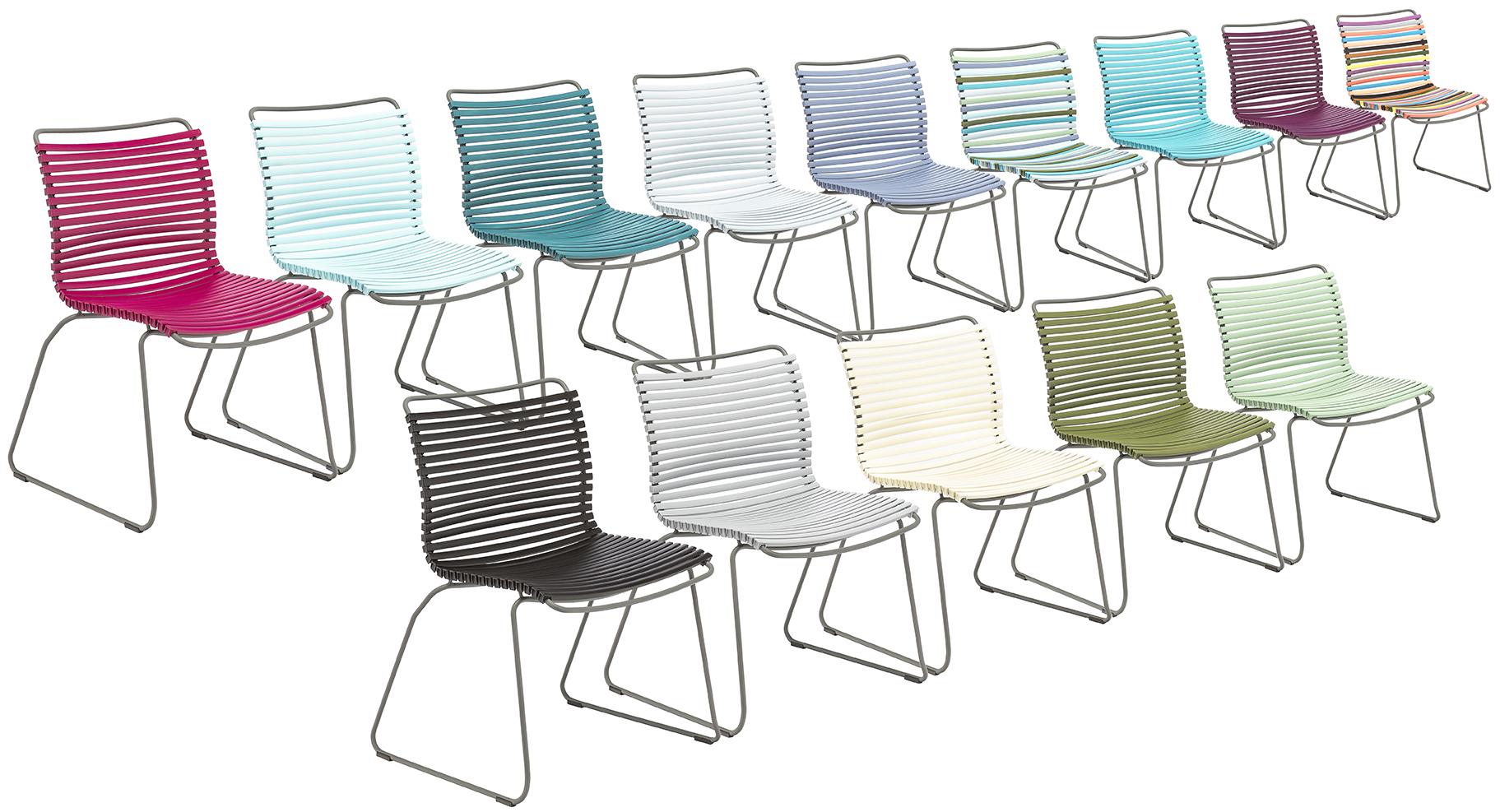 Click Stühle in allen Farben