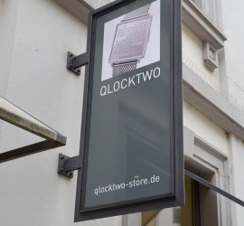 Qlocktwo wohn design blog for Blow out karlsruhe