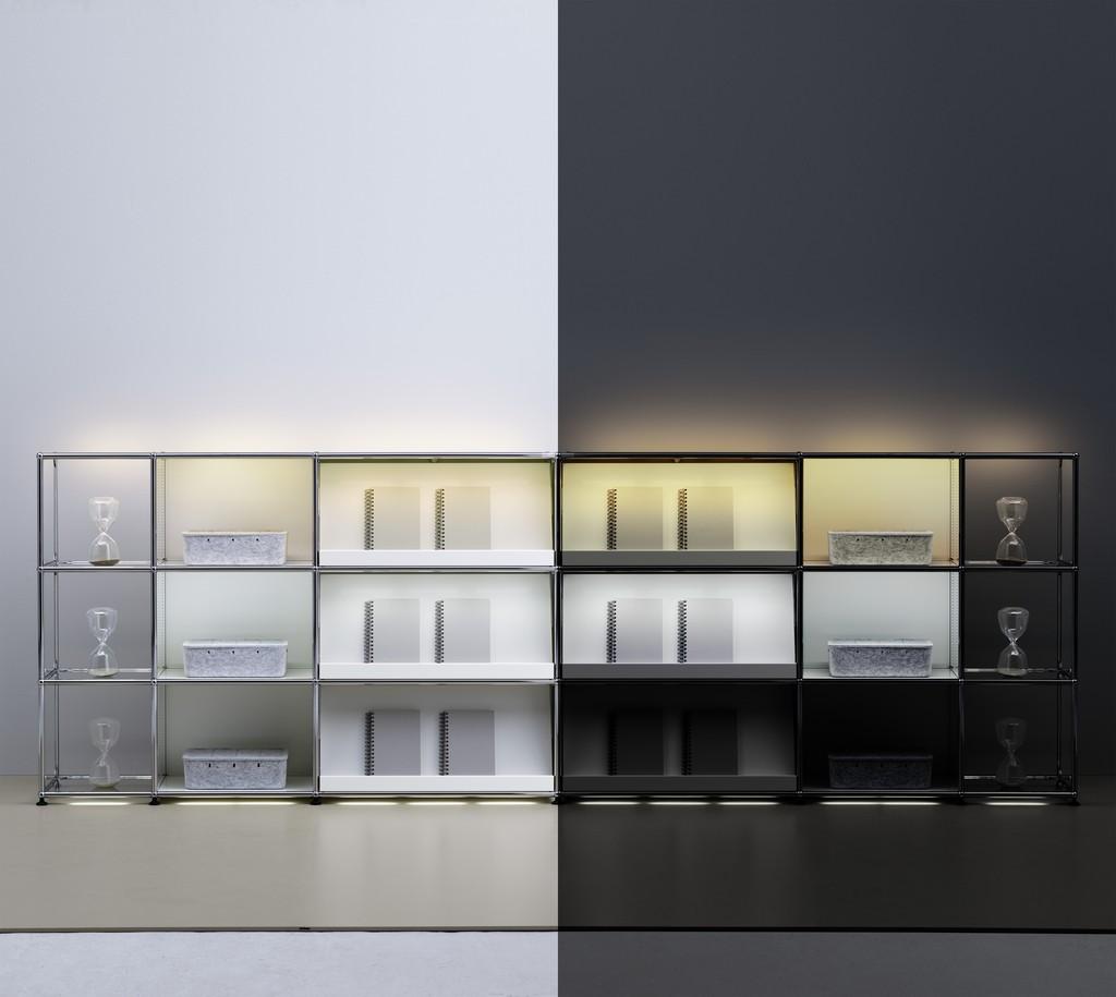 Usm haller e ein klassiker leuchtet wohn design blog for Wohn design